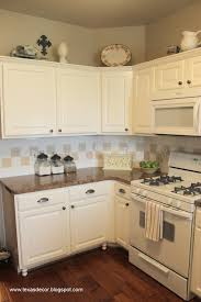 Painted Kitchen Ideas by Best 25 White Appliances Ideas On Pinterest White Kitchen