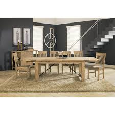 modus autumn solid wood extension table cider hayneedle