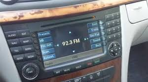 how to troubleshoot audio u0026 navigation of mercedes e320 e350
