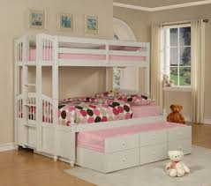 moder cream wall kids bedrooms for three that ca be decor with