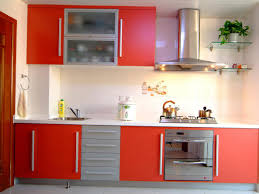 Height Of Kitchen Cabinet by Red Kitchen Cabinets