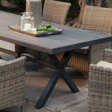 Wicker Resin Patio Furniture - belham living bella all weather wicker 7 piece patio dining set