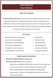 Examples Of Hvac Resumes by High Voltage Electrician Cover Letter