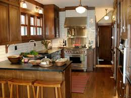 What Is The Best Lighting For A Kitchen by Peninsula Kitchens Hgtv