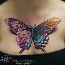 Miami Ink Flower Tattoo Designs - best 25 butterfly tattoos ideas on pinterest monarch tattoo