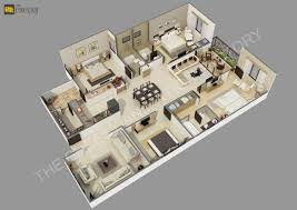 3d Floor Plans by The Cheesy Animation Studio 2d And 3d Floor Plan Rendering And