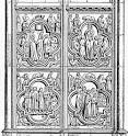 Glossary of Medieval Art and Architecture:bas-relief or low relief