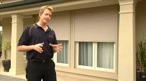 6 window roller shutters by australian outdoor living youtube
