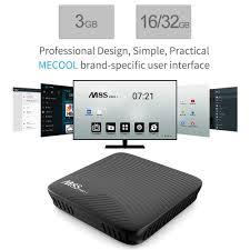 mecool m8s pro l 4k android 7 1 tv box amlogic s912 3gb 16gb