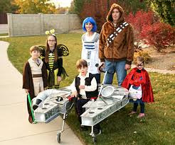 Halloween Costumes For Families by Family Builds Star Wars Costume For Son With Cerebral Palsy Wtop