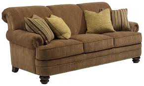 Living Room Furniture Stores Bay Bridge Traditional Rolled Back Sofa By Flexsteel Traditional