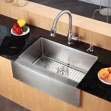 Amazoncom Kraus KHF Inch Farmhouse Apron Single Bowl - Kitchen sink images