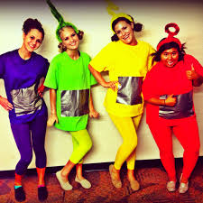 easy homemade couples halloween costume ideas homemade teletubbies halloween costume and these are my friends