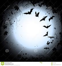 halloween background flying bats in full moon royalty free stock