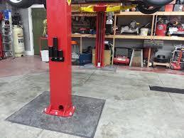 hardline concrete u0026 masonry garage floors drains