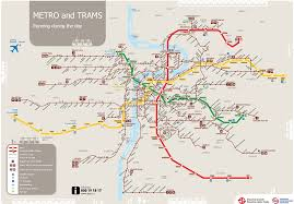 Metro Lines Map by Prague Maps Transport Damyan Tours And Excursions In Prague