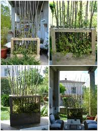 terasse en palette paravent végétal en bois de palettes upcycled wooden pallet