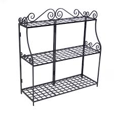 amazon com ps3t handcrafted rectangular metal plant stand