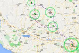 San Luis Potosi Mexico Map by Easter El Gringo Suelto