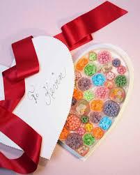 heart shaped candy box u0026 video martha stewart