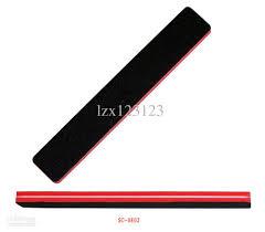 nail file rectangular red sponge black sandpaper emery board tools