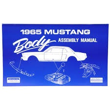 jim osborn am06 mustang assembly manual body 1965