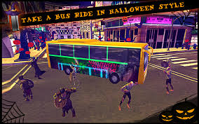 halloween city halloween bus city simulator android apps on google play