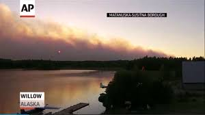 Willow Wildfire California by Alaska Wildfire Covers 10 Square Miles La Times