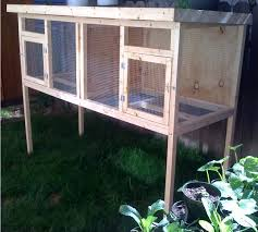 custom rabbit hutch chicken coop duck house aviary we