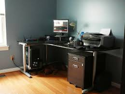 Computer Desks Black by Computer Office Desk Best Black Corner Computer Desk Designs