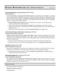 VP Sales Sample Resume   Executive resume writer VP  Director  CTO