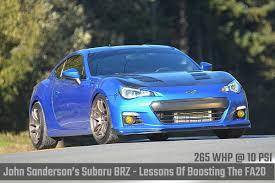 nissan 370z vs subaru brz john sanderson u0027s subaru brz lessons of boosting the fa20