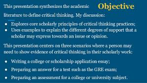 St  Petersburg College Critical Thinking Gateway The Peak Performance Center Types of Critical Thinking Skills