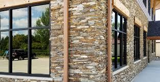 patio u0026 outdoor modern country home design using halquist stone