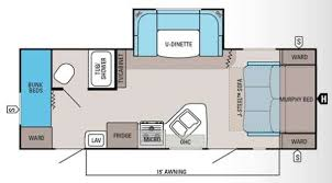 Jayco Camper Trailer Floor Plans Used 2013 Jayco Jay Feather Ultra Lite 23m Travel Trailer At
