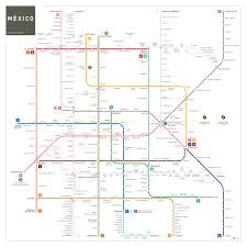 Mexico Cities Map by Mexico City Metro Map Inat Maps