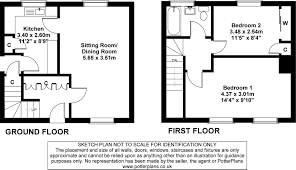 two bedroom semi detached house plan house design and plans