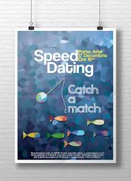 Poster mockup for a charitable speed dating event organized by the     Pinterest