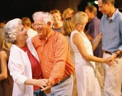 old people dancing