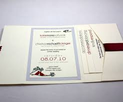 Making Wedding Invitation Cards Pocketfold Wedding Invitation 20 Steps With Pictures