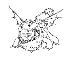to train your dragon coloring pages for kids printable free