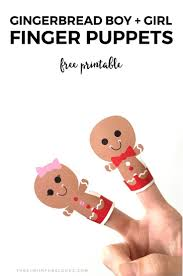 gingerbread writing paper 909 best christmas printables patron templates images on free printable gingerbread boy girl finger puppets do you need an easy way to