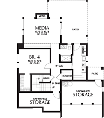 Contemporary Style House Plans Contemporary Style House Plan 4 Beds 3 50 Baths 3026 Sq Ft Plan