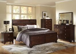 tamryn dark brown bedroom set