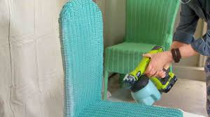 Painting Wicker Patio Furniture - video how to paint outdoor furniture the right way martha stewart
