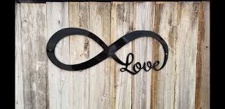 infinity love metal art home decor sign 20