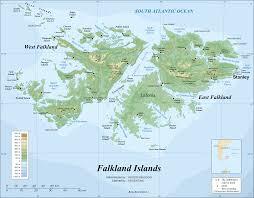 Map Of Western Caribbean by Falkland Islands Wikipedia