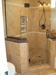 Shower Designs For Small Bathrooms Interior Charming Small Bathroom Remodeling Ideas Using Walnut