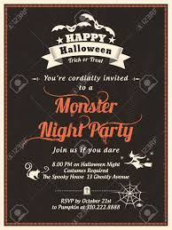 free halloween invite templates halloween party invitation template for card poster flyer royalty