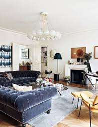 Urban Living Room Decor Decorating Parisian Style Chic Modern Apartment By Sandra Benhamou
